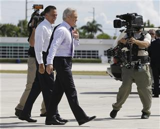 Mitt Romney, Scott Pelley