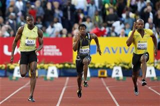 Usain Bolt, Yohan Blake, Asafa Powell