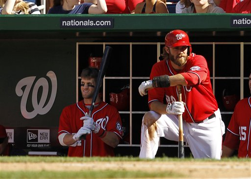Bryce Harper, Jayson Werth