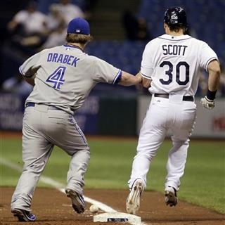 Kyle Drabek, Luke Scott