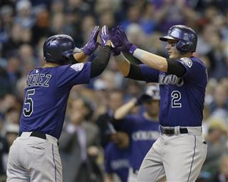 Troy Tulowitzki, Carlos Gonzalez