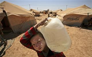 Mideast Jordan Syrian Refugees
