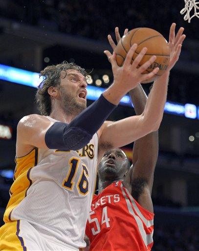 Pau Gasol, Patrick Patterson