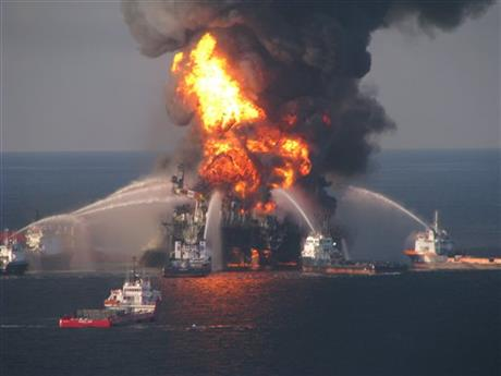 Gulf Oil Spill BP Suspension