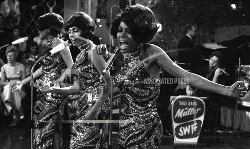 West Germany  The Supremes 1968