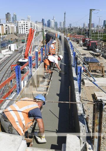 Railway informs about rail construction projects in Frankfurt/Main