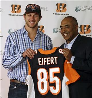 Tyler Eifert, Marvin Lewis