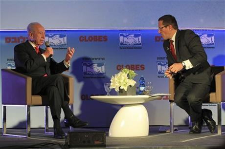 Shimon Peres, Richard Quest