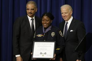 Joe Biden, Eric Holder, Reeshemah Taylor