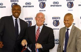 Steve Clifford, Rod Huggins, Rich Cho