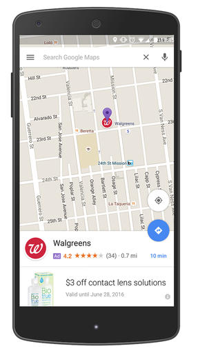 Google-Ads On Maps