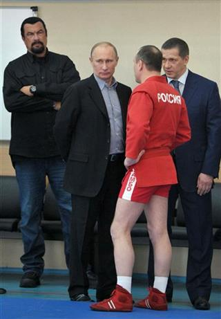 Vladimir Putin, Steven Seagal 