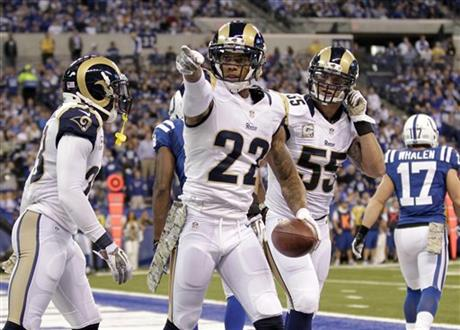 Trumaine Johnson, James Laurinaitis, Rodney McLeod
