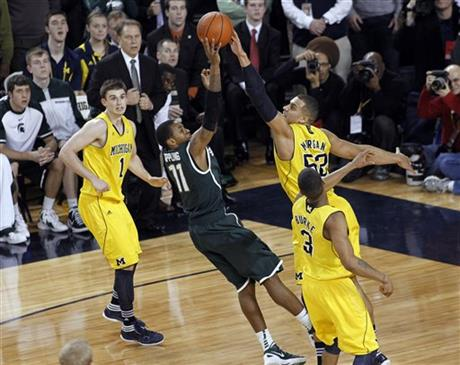 Keith Appling, Jordan Morgan, Stu Douglass, Trey Burke