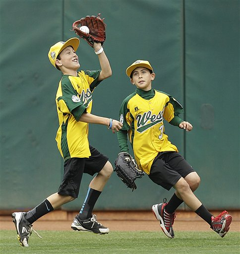 Petaluma National Little League team