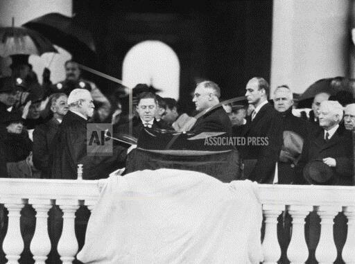 Watchf Associated Press Domestic News  Dist. of Col United States APHS183854 FDR Inauguration 1937