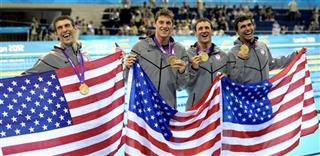 Michael PhelpsConor Dwyer, Ricky Berens, Ryan Lochte