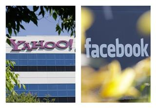 Yahoo Facebook Patents