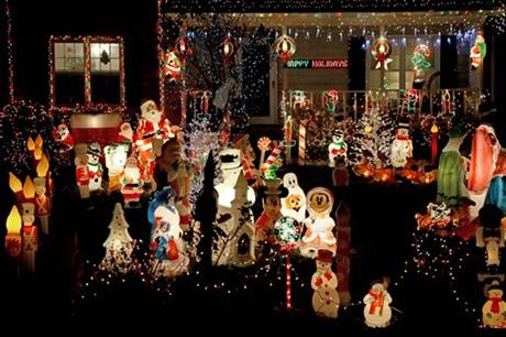 Christmas Lights in America