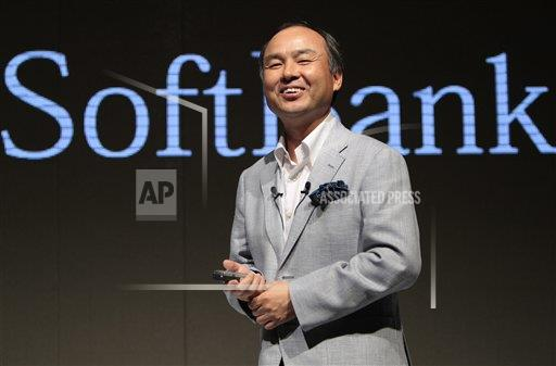 Japan US Sprint Softbank