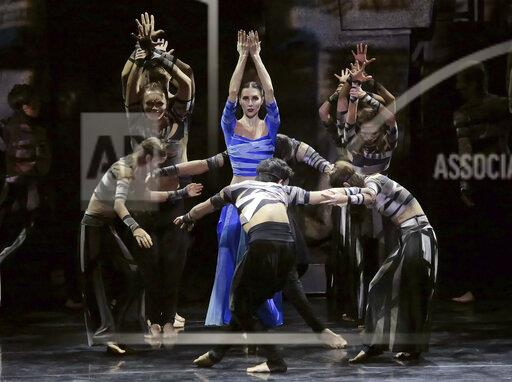 "Samara Academic Opera and Ballet Theater brought parable ballet ""Three Masks of the King"" to Moscow."