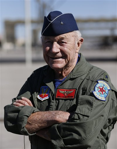 a biography of charles e yeager an american pilot Usaf official biography brigadier general charles e yeager retired air force brigadier general charles e chuck yeager gained.