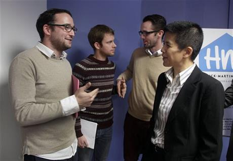 Chaim Levin, Christine Sun, Michael Ferguson, Seth Anderson