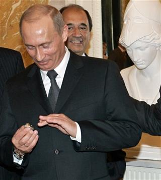 Putin Super Bowl Ring Football