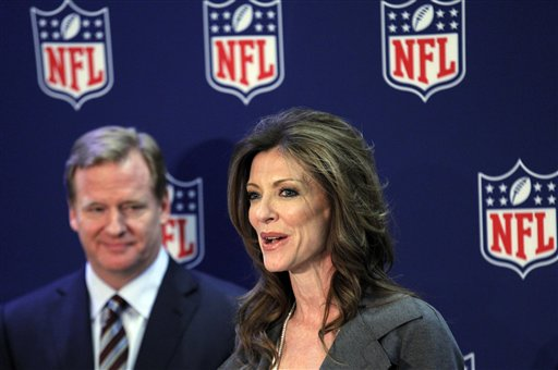 Roger Goodell, Charlotte Jones Anderson