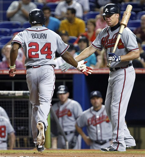 Chipper Jones, Michael Bourn