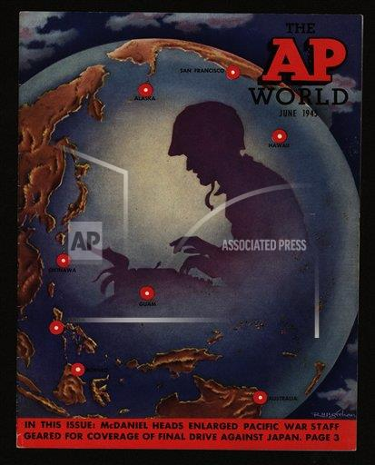 Watchf AP I    APHSCA144 The AP World, June 1945 issue cover