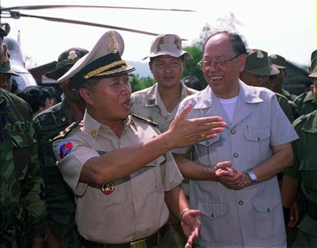 Norodom Ranariddh, Ieng Sary