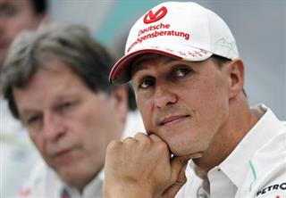 Germany F1 Schumacher health
