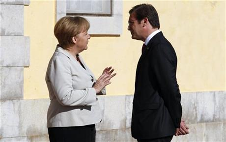 Angela Merkel, Pedro Passos Coelho