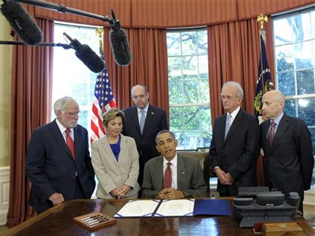 Barack Obama, Richard Stone, Barbara Boxer, Howard Friedman, Howard Berman, Lee Rosenberg