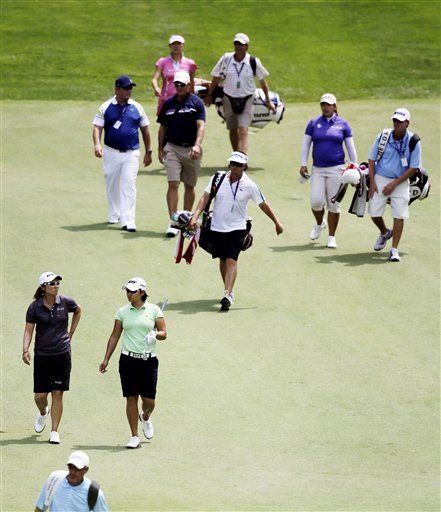 US Womens Open Golf
