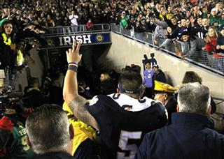 Wake Forest Notre Dame Football