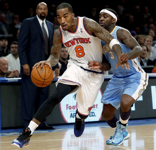 Nuggets Knicks Basketball