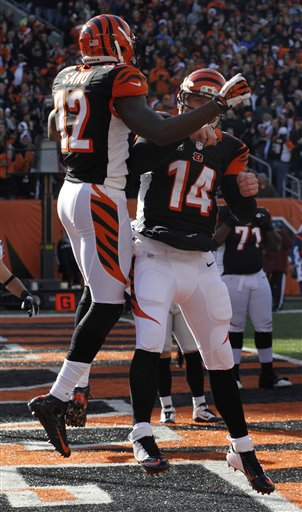 Andy Dalton, Mohamed Sanu