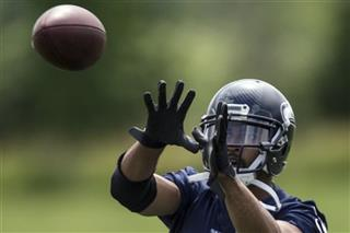 Seahawks Practice Football