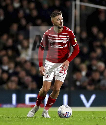 Fulham v Middlesbrough - Sky Bet Championship - Craven Cottage