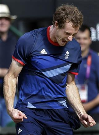APTOPIX London Olympics Tennis Men