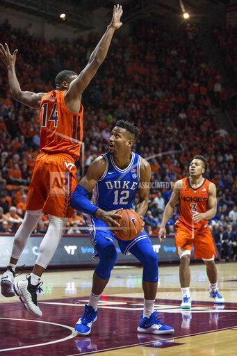 NCAA Basketball 2019: Duke vs Virginia Tech DEC 06
