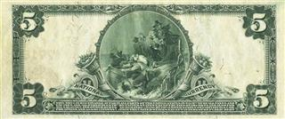 1905 Five Dollar Bill