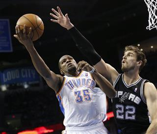 Kevin Durant, Tiago Splitter