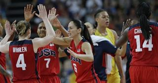 Sue Bird, Lindsay Whalen, Maya Moore