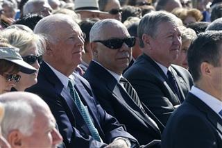 Colin Powell, John Ashcroft,James A. Baker III