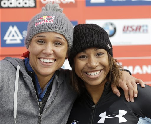 Jazmine Fenlator, Lolo Jones