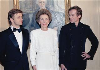 Baryshnikov Nureyev And First Lady 1986