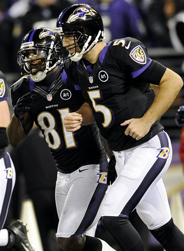 Joe Flacco, Anquan Boldin